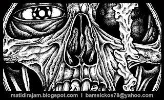 bam sickos pointillism artist, pointillism art, artist for hire, bam sickos art, punk artist