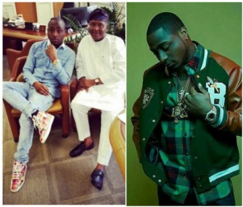 Dangote carried Davido home when he was still a baby, after