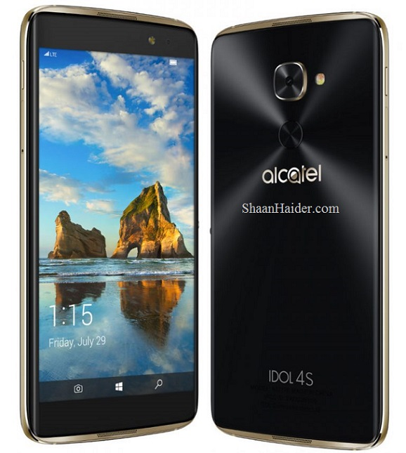 Alcatel Idol 4S with Windows 10 Mobile : Full Hardware Specs, Features, Price and Availability