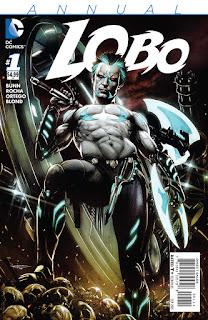 """La portada de """"Lobo"""" es una de las que ha entintado Ortego para DC"""