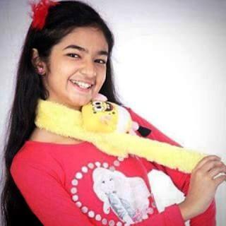 Gambar Anushka Sen dalam BaalVeer