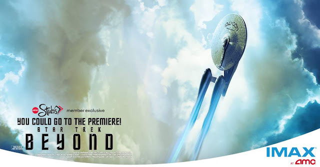 AMC Theatres is giving away a Star Trek fan's fantasy vacation to attend the IMAX premiere of Star Trek Beyond in San Diego, California worth almost $5000!