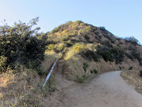 View north toward Baby Bell, Griffith Park