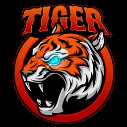 logo harimau api