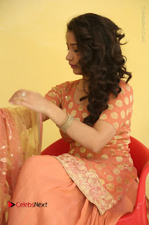 Telugu Actress Santoshi Sharma Latest Stills in Salwar Kameez at HBD Movie Teaser Launch  0081.JPG