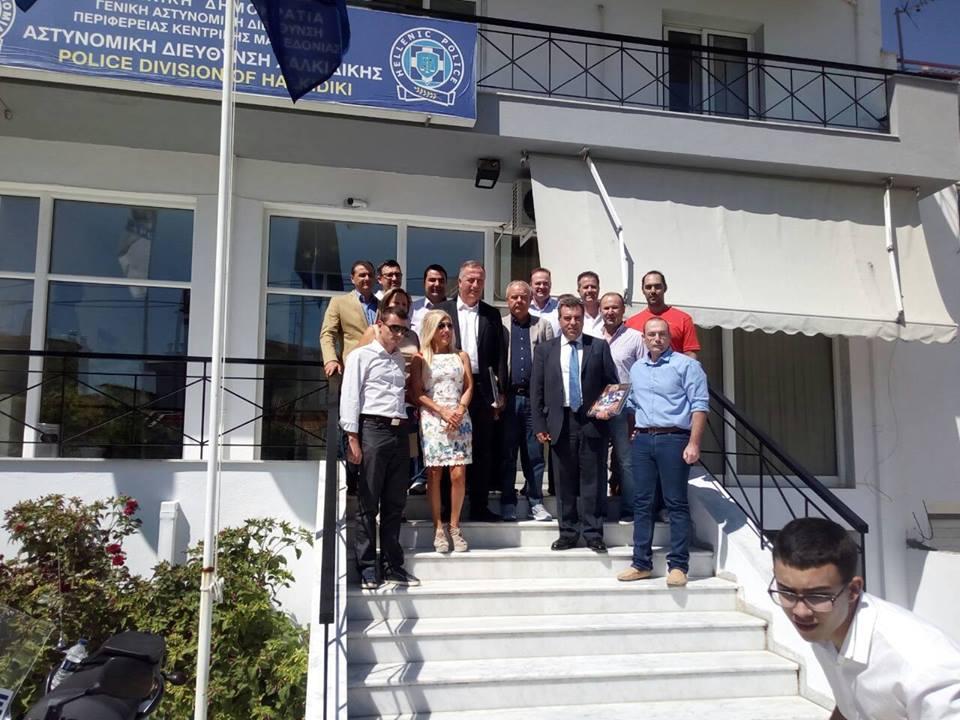 Περιοδεία κλιμακίου της ΝΔ στον Νομό Χαλκιδικής