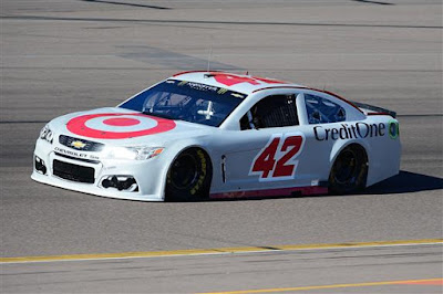Driver Kyle Larson during Testing At Phoenix International Raceway