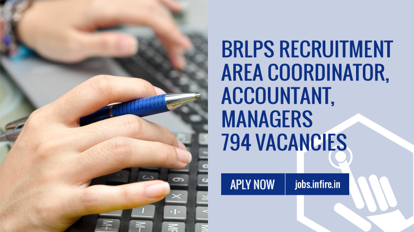 BRLPS Recruitment 2019 Area Coordinator, Accountant, Managers - 794 Vacancies Apply Now