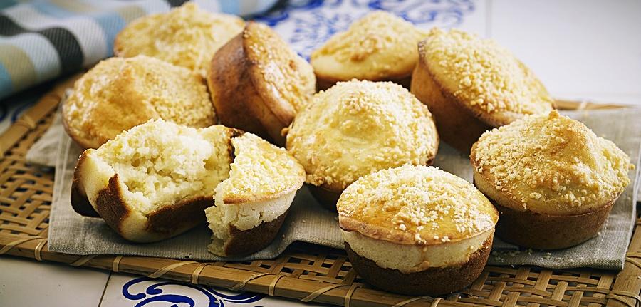 Receita: Muffin de Frango e Queijo 🧀