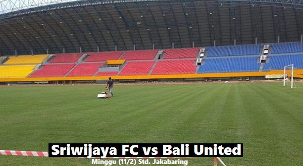 Sriwijaya FC akan Main Menyerang Lawan Bali United