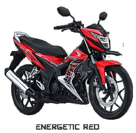Honda Sonic 150R Energetic Red