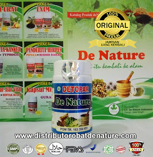 Kapsul Herbal Detopar De Nature Indonesia