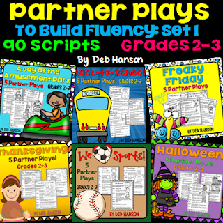 Partner Play BUNDLE! Partner plays are excellent fluency-building reading activities that students love!