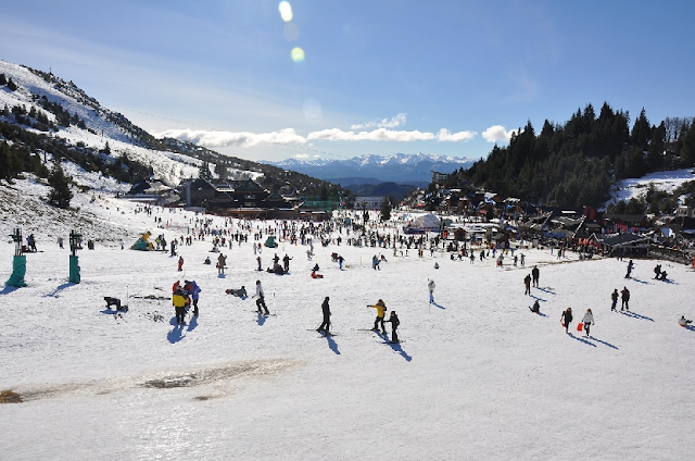 Pistas de esquiar na Argentina