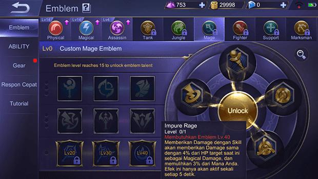 Build Item Cyclops Mobile Legend Full Damage Sakit + Pedes