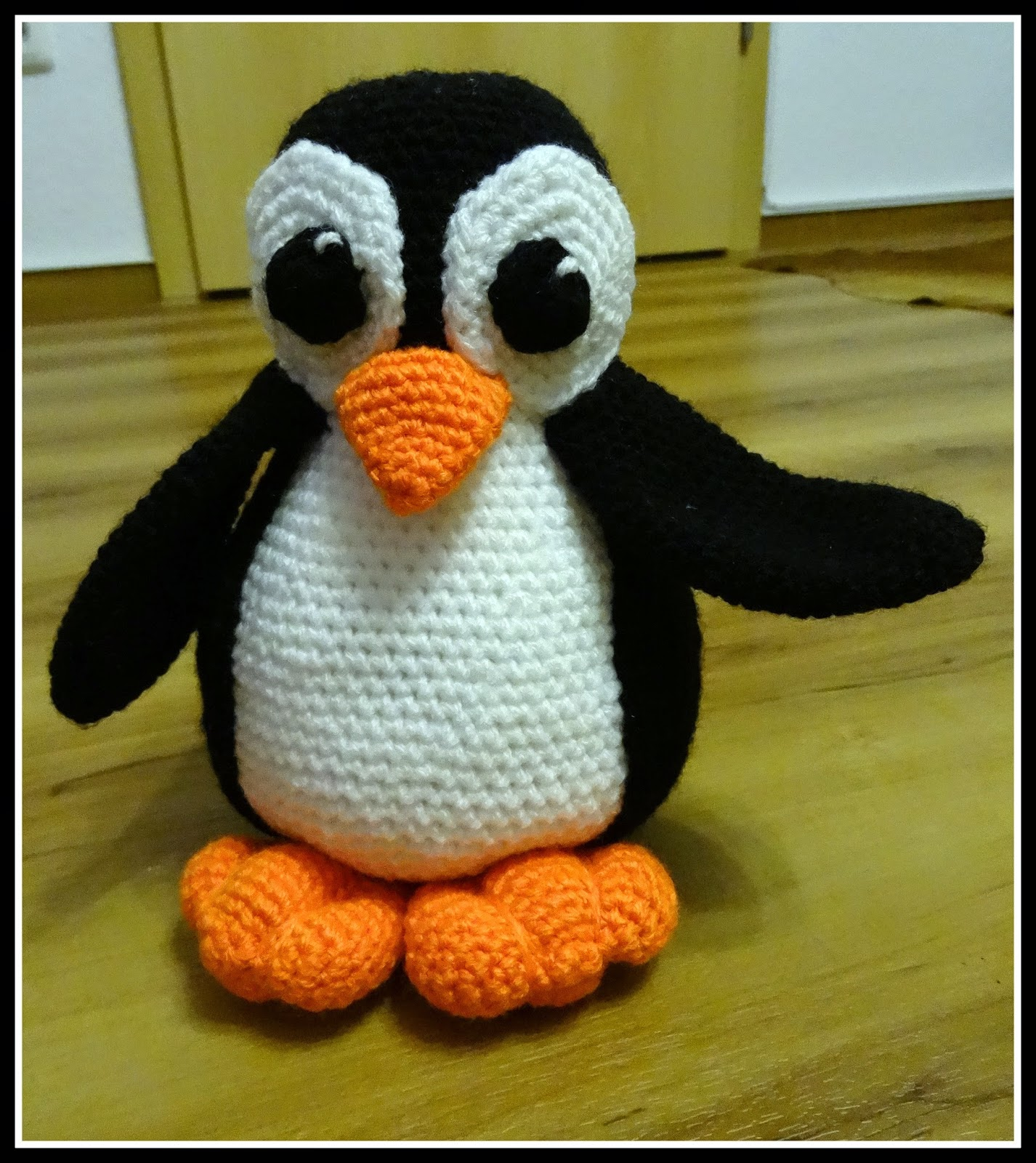 Fannysbuntewelt Häkel Pinguin