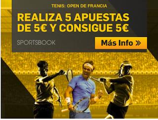 betfair consigue 5€ apostando Open Francia 2018