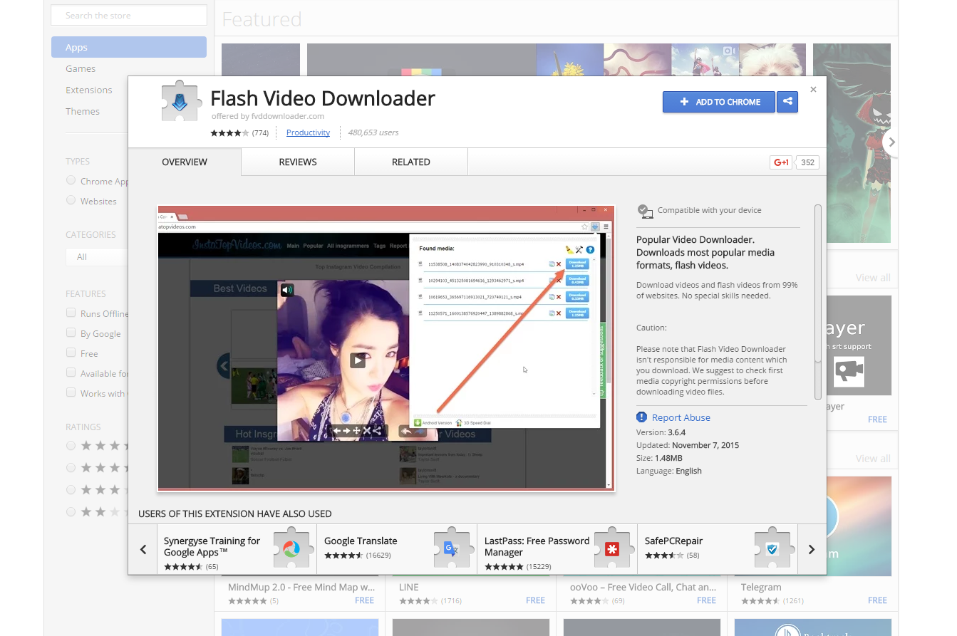 free web video downloader for google chrome