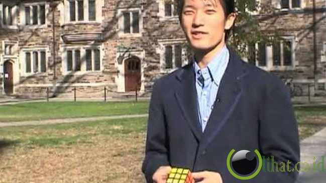 Pemecah Kubus Rubik Tercepat