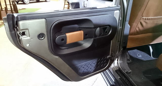 Jeep Wrangler 4x4 Interior