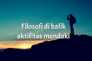 Filosofi mendaki gunung