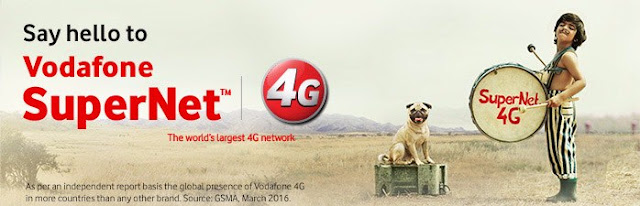 Vodafone SuperNetTM 4G successfully launched across 17 circles
