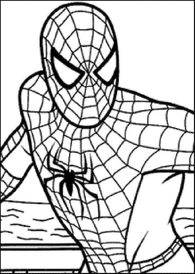 Spiderman online coloring pages for kids - So Come Online And Relish Some Free Coloring Games For Your Kid That You Can Print Out And Color Our Website Has An Awesome Collection Of Spiderman