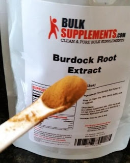 Bulk Supplements Burdock Root