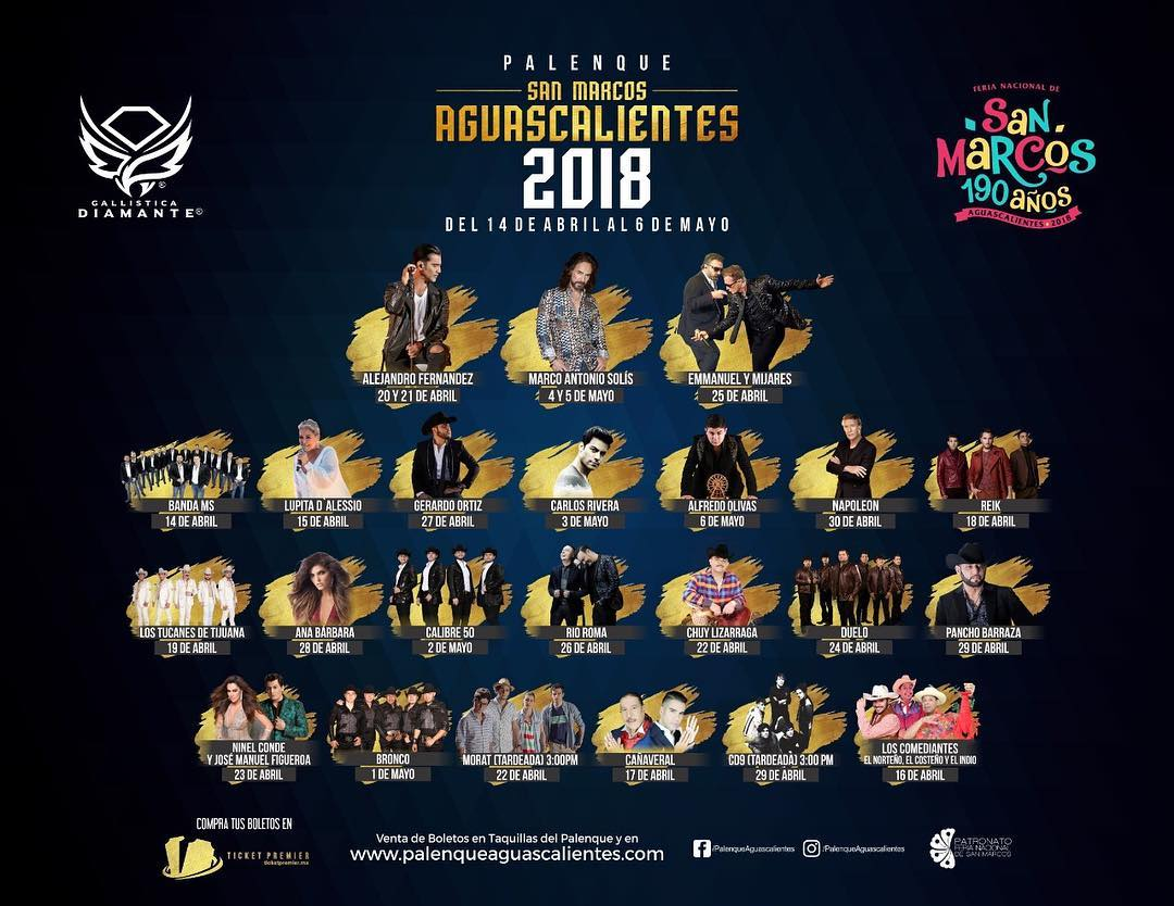 Palenque Feria San Marcos 2018 - Feria San Marcos 2019
