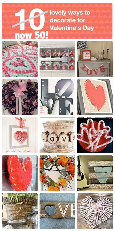 50-lovely-ways-to-decorate-for-Valentine's-Day!
