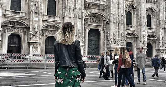 Two Outfits in Milan