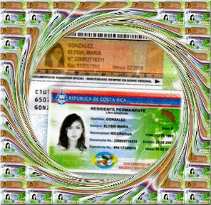 Costa Rican Residency ID card