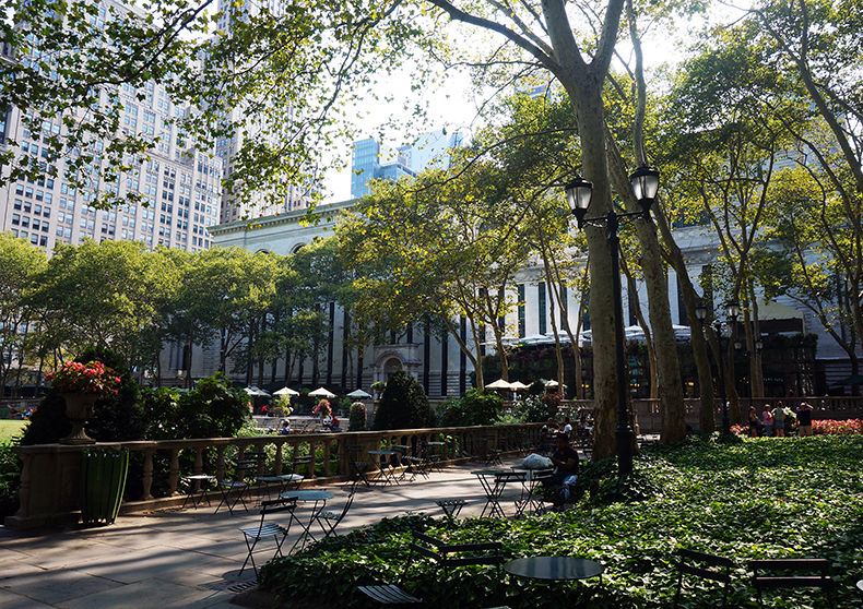Euriental | fashion & luxury travel | New York, Bryant Park