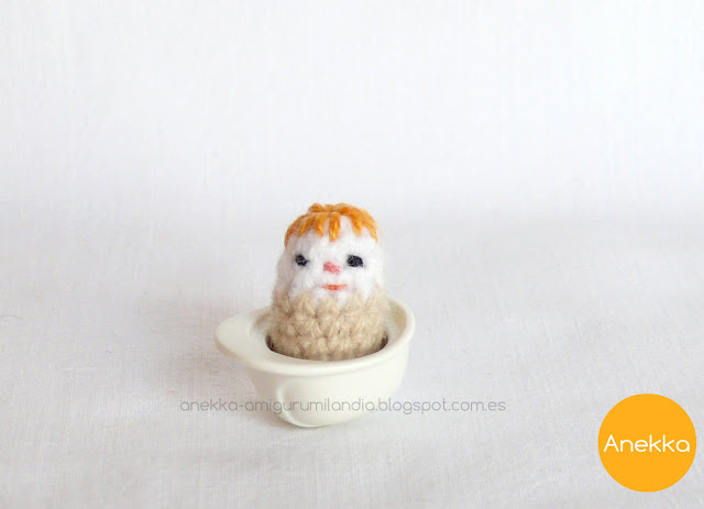 mini crochet toy