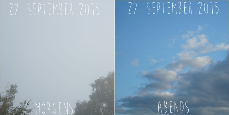 Blog + Fotografie by it's me! - Himmel am 27.09.2015