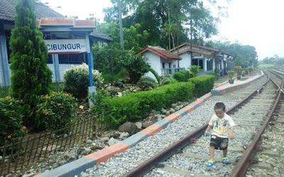Stasiun Cibungur Purwakarta