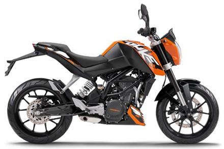 Spesifikasi KTM Duke 125