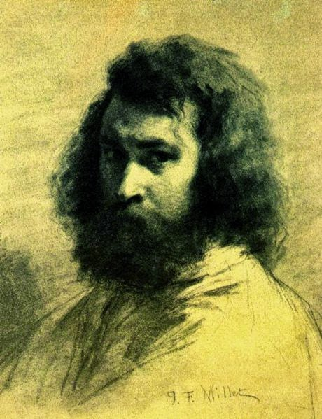 Autorretrato - Millet, Jean-Francois e suas principais pinturas | Realismo
