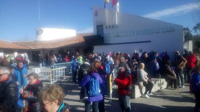 Camino de Cervantes desde Alalpardo, con el grupo de senderismo escapadillas.com