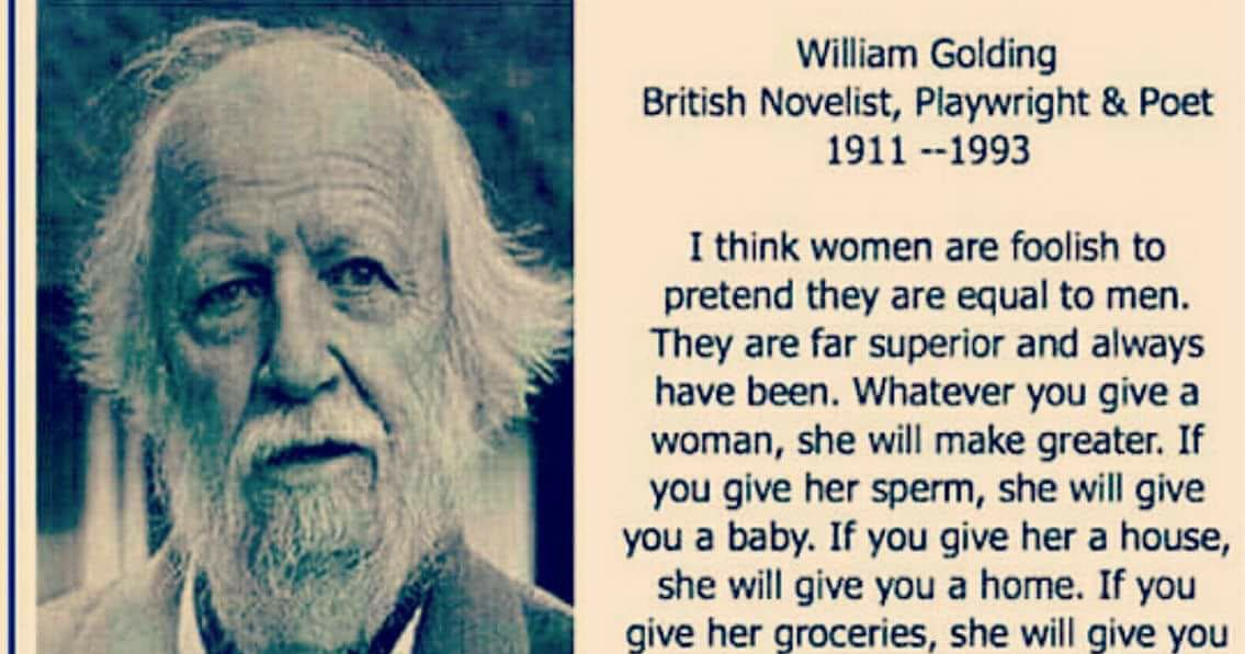 Whatever woman a william you golding give Blog :