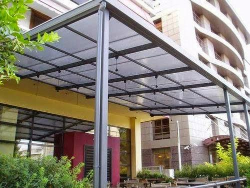 Techos de policarbonato simples de instalar y muy for Techos exteriores para casas