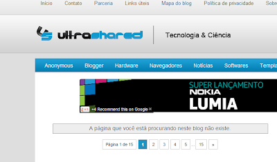 404 no Blogger