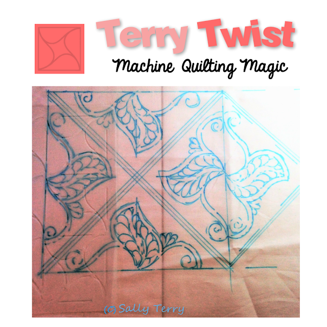Check out both the Terry Twist Stencil and Ruler Sets