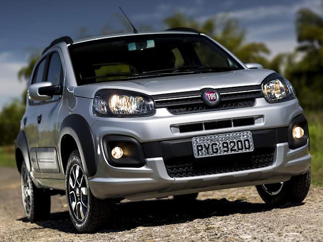 Novo Fiat Uno 2017 Way