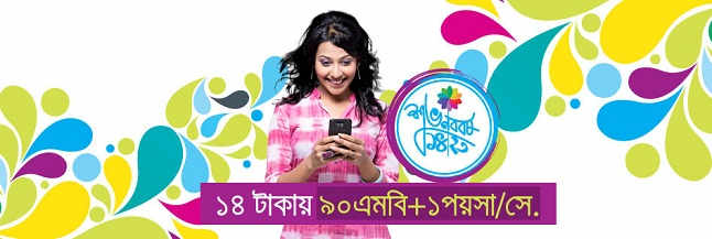 GP Pohela Boishakh Internet Offer
