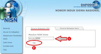 Cara cek NISN Kemdikbud siswa online berdasar NISN