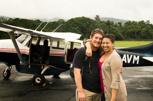 flying to utila honduras