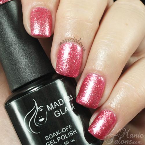 Madam Glam Gel Polish 327 Glamorous Swatch