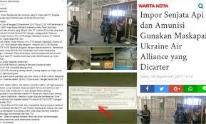Geger! 5000 Senjata Tiba Di Bandara Soetta, Inikah Yang Dimaksud Panglima TNI?