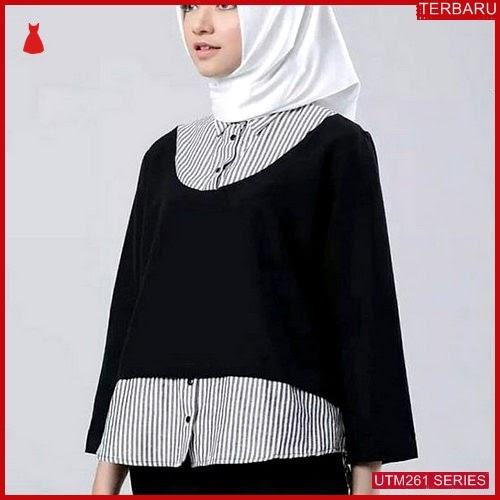 UTM261A47 Baju Alifa Muslim Atasan UTM261A47 105 | Terbaru BMGShop